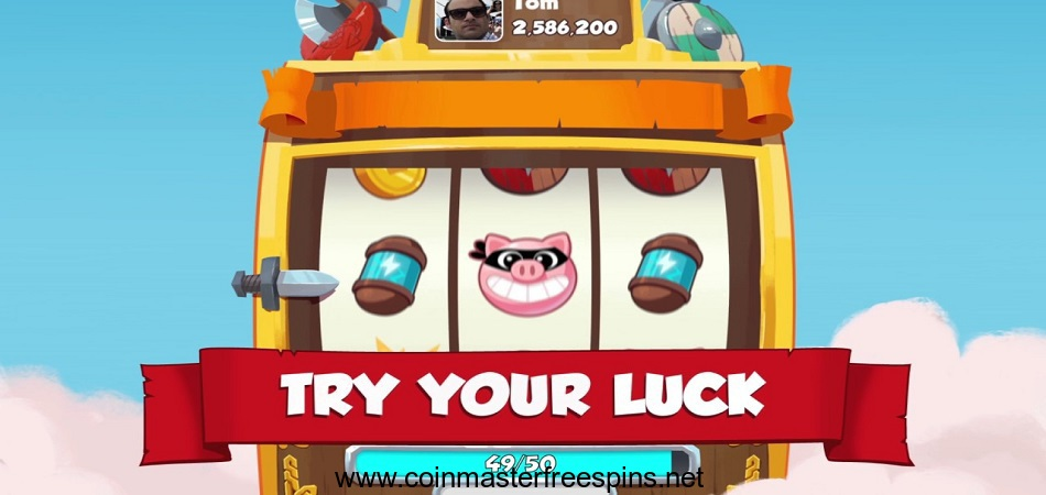Try Your Luck Coin master free spins